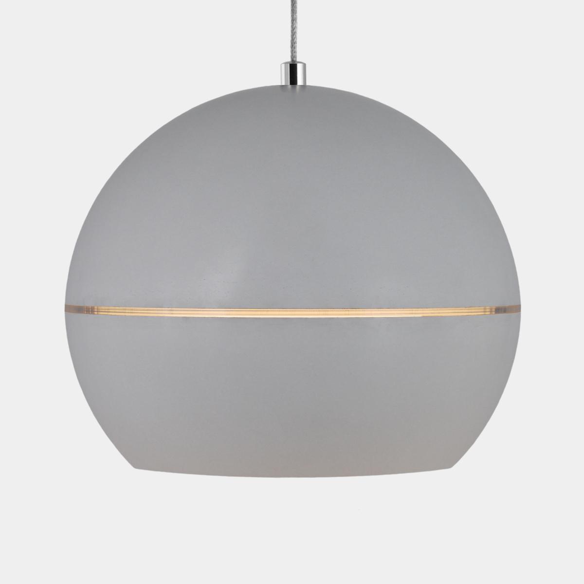Coxalı Leuchte : Scutı · Grey · Cloudy · Lichtring : Creme Transparent