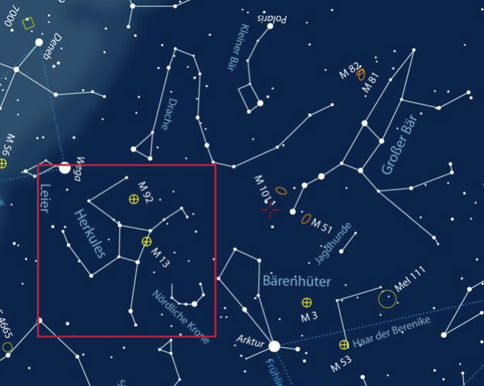 From Big Bang To Constellations