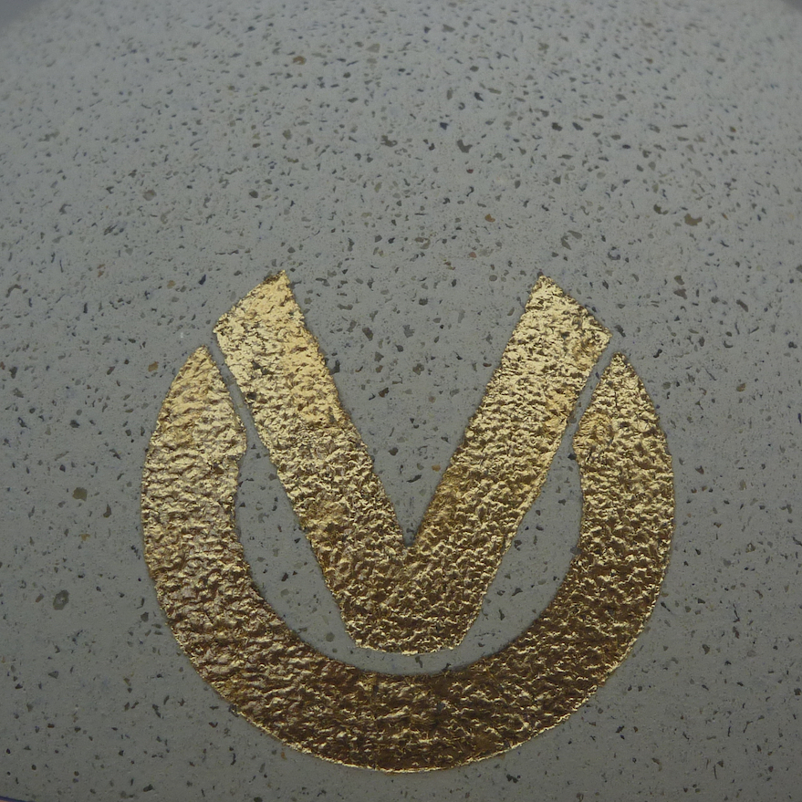 DVAG Logo・gold Plated