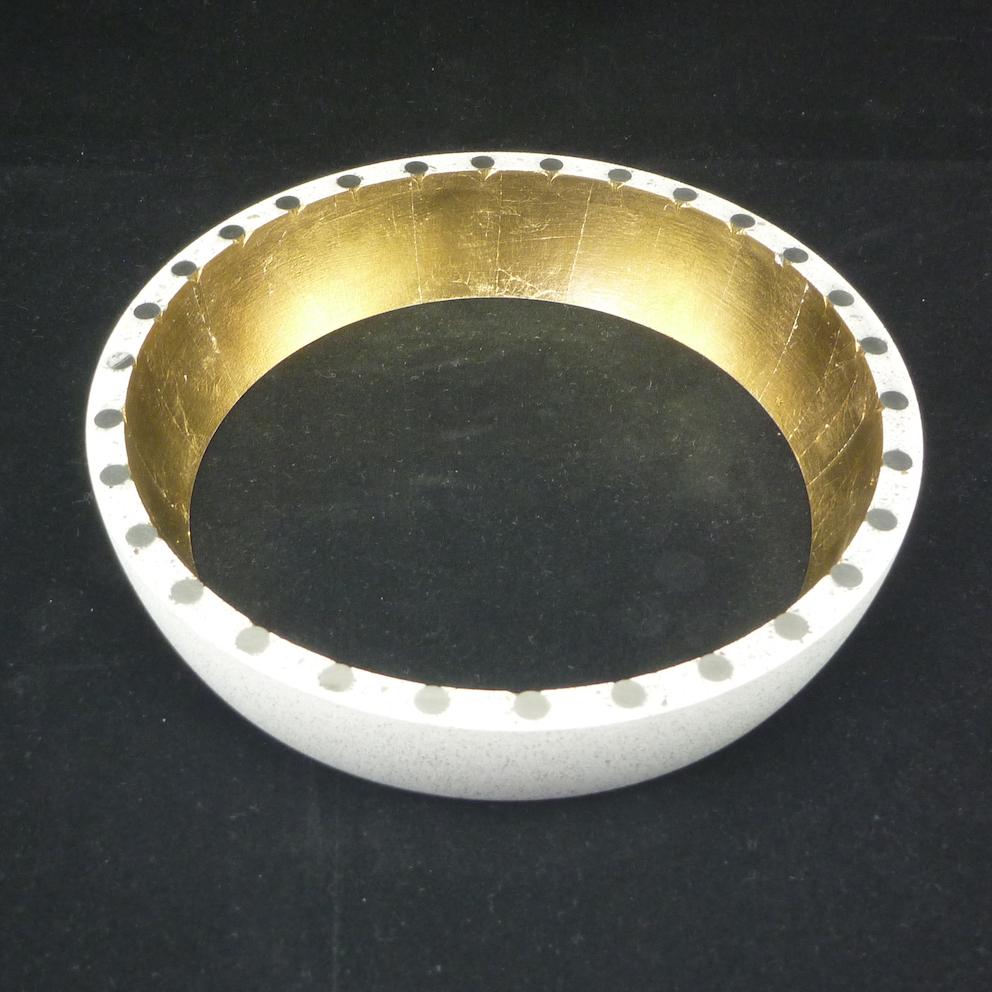 Lower Shell・gold Leave Fınısh