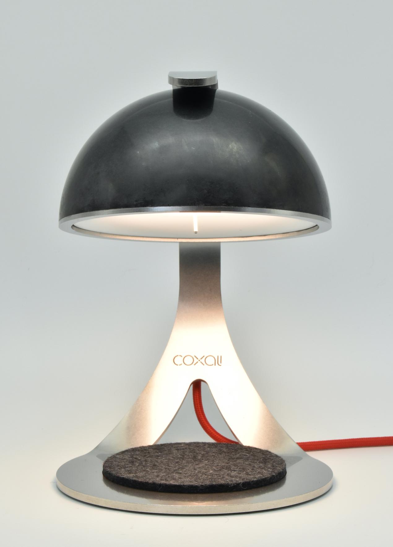 Alma E.1 : Gaues Filzpad ∙ LED ON
